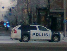 poliisiauto uaaa