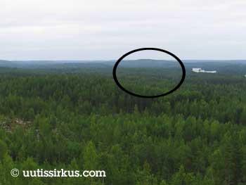 Horisontissa siintää metsää, metsää ja metsää