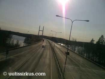 Moottoritie Heinolassa