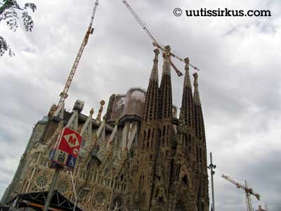 Sagrada Familia Barcelonassa