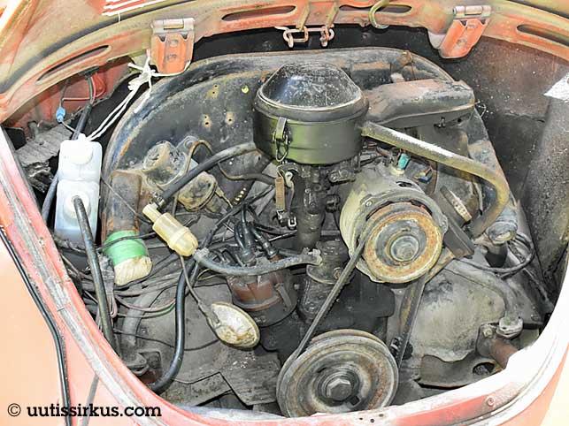 kuplavolkkarin moottori