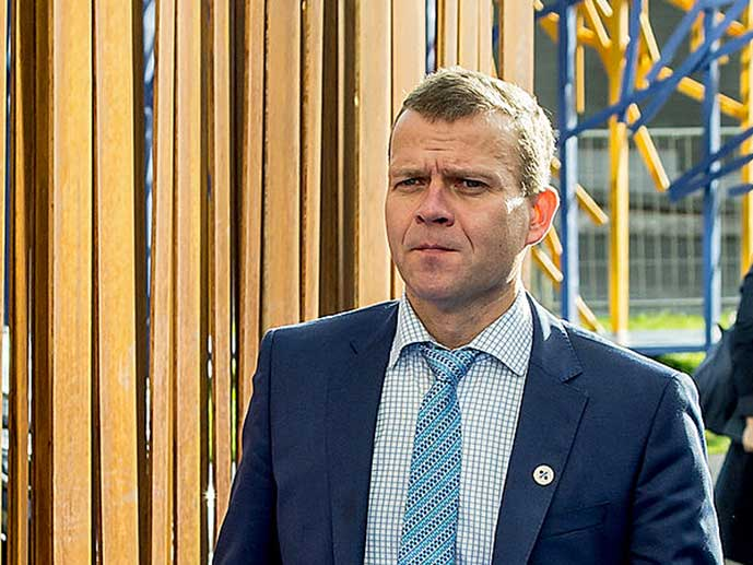 Petteri Orpo, kokoomuksen puheenjohtaja, kuva EU2017EE/Flickr