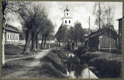 Pyhän ristin kirkko Raumalla, kuva: Museovirasto