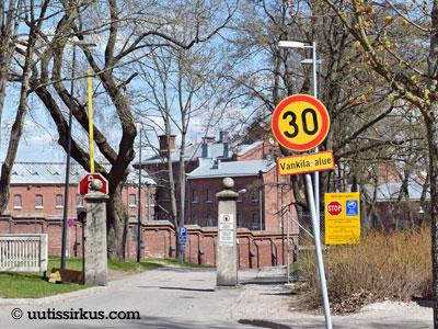 Sörnäisten vankilan portti