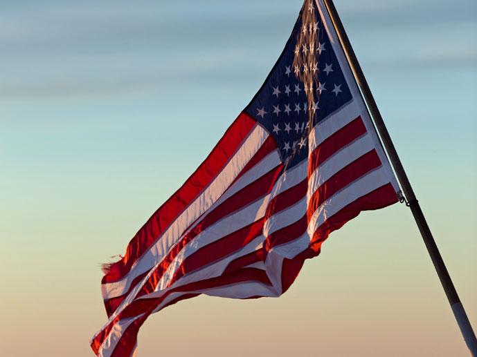USA:n lippu